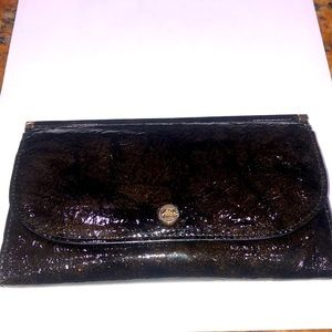 ABAS Beautiful Brown & Gold Wallet